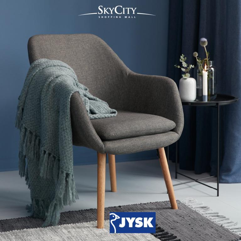 """Включете се в играта на SkyCity Mall и JYSK """"Познайте името на креслото"""""""